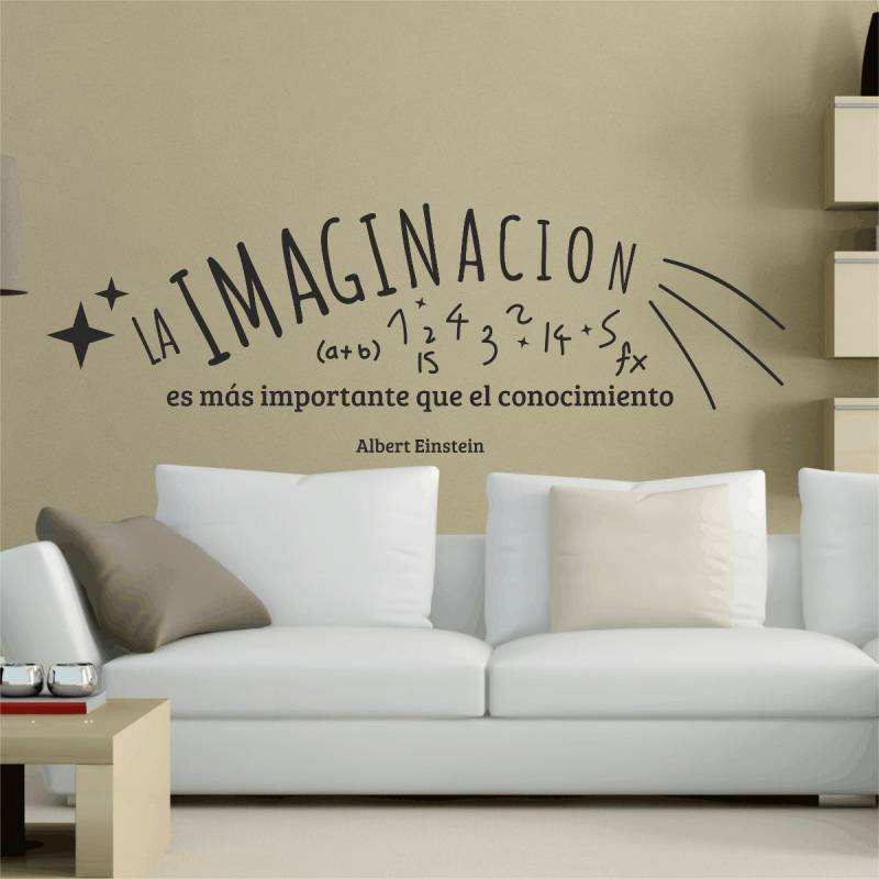 Vinilos personalizados y decorativos mercado libre magazine for Pegatinas frases pared